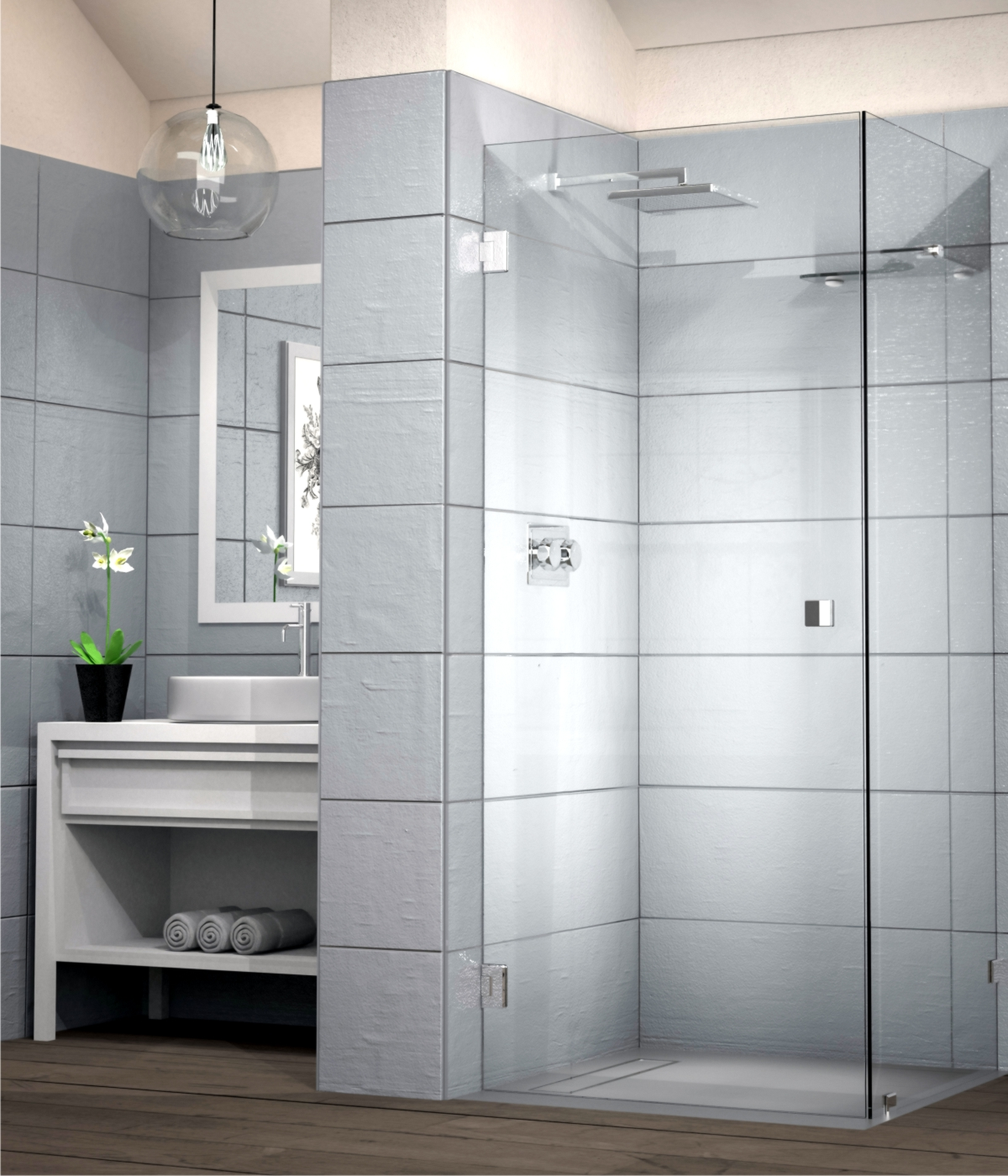 The Best Frameless Shower Doors Enclosures In Sa Showerline
