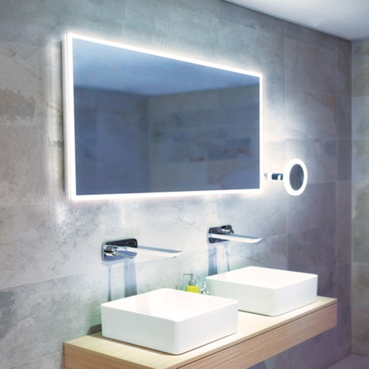 Specchio Cornice Hib Globe 120 Led Steam Free Illuminated Mirror | 78700000