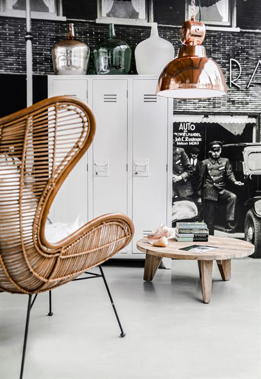 Fauteuils En Rotin Vintage Egg Chair Van Rotan - Inspiraties - Showhome.nl