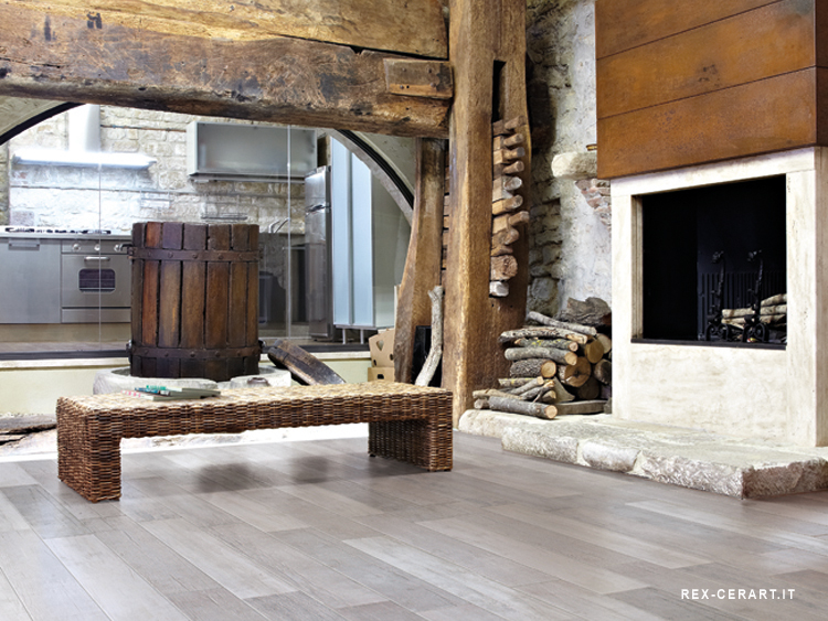 Warm Hout Interieur Warme Winterse Woning Open Haard With Warme Huiskamer
