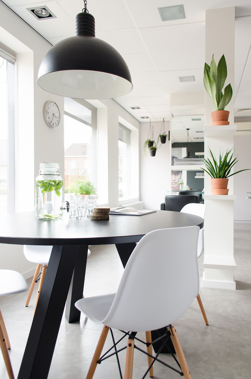 Interieurstylist Limburg Restyling Kapsalon Interieurstylist Showhome Nl