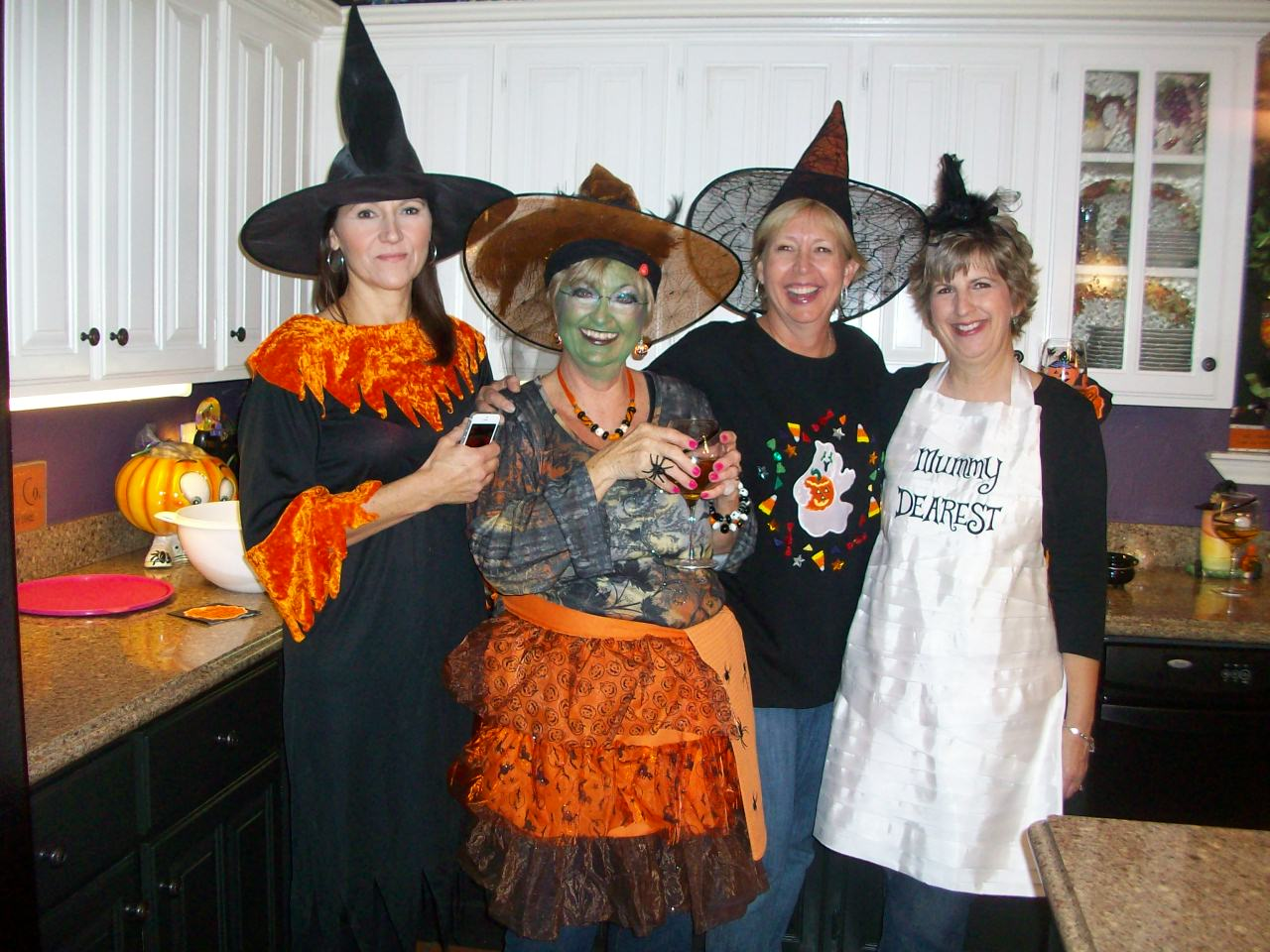 Halloween Chic The Shabby Chic Chefs Halloween Party They Show You How