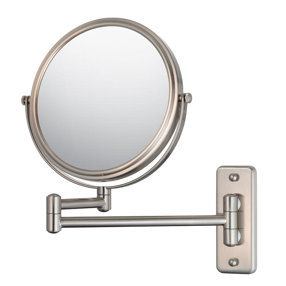 Decorative Brushed Nickel Mirror Aptations 21175 At Rampart Supply Magnifying Mirrors