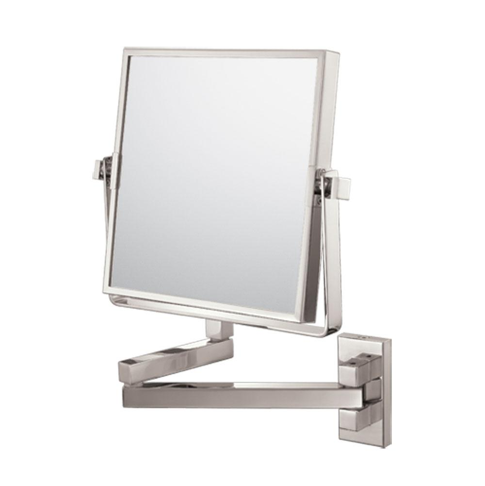 Decorative Brushed Nickel Mirror Aptations 24073 At Rampart Supply Magnifying Mirrors