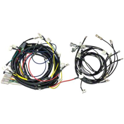 Case CKS2875 Wiring Harness Show Time Performance  Restoration