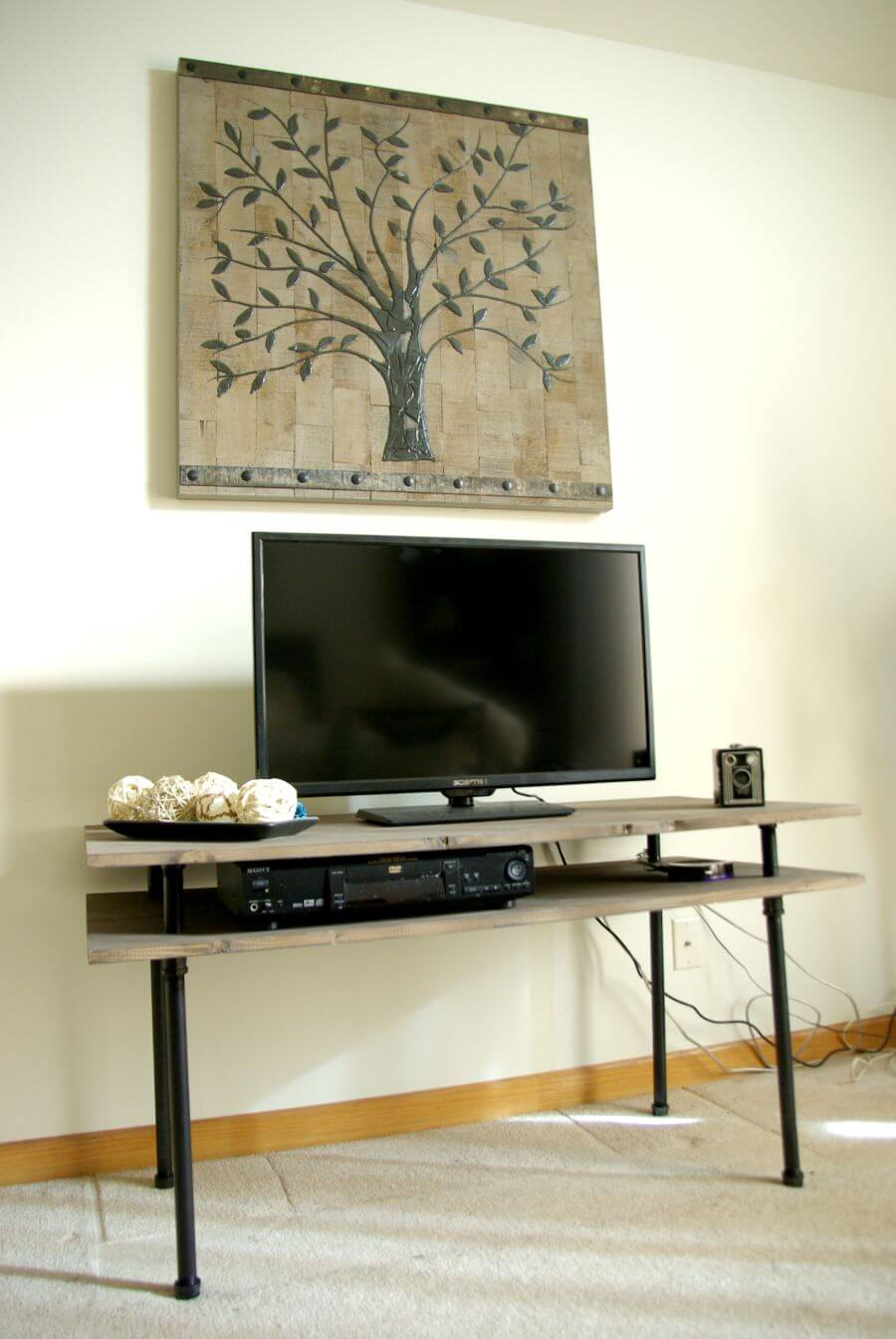 Diy Small Entertainment Center 50 Creative Diy Tv Stand Ideas For Your Room Interior Diy