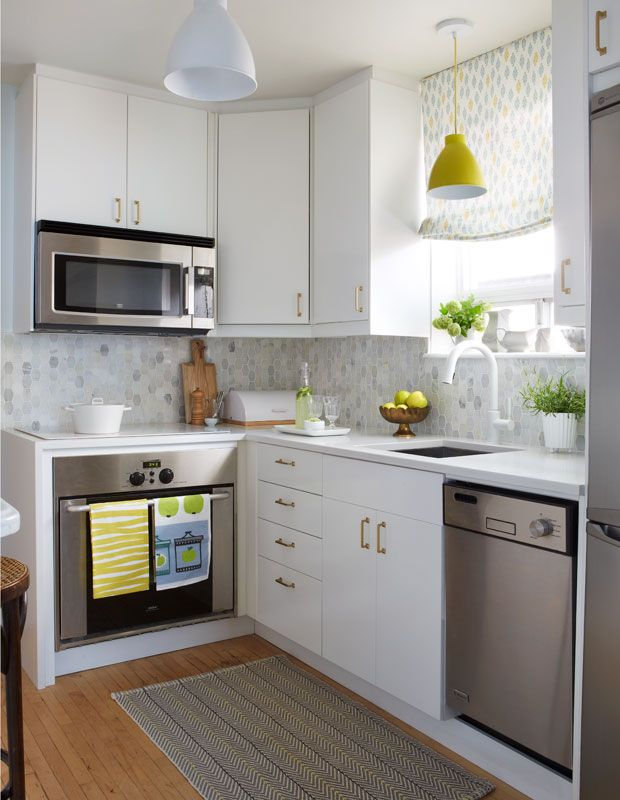20+ Extremely Creative Small Kitchen Layouts Ideas - DIY Design - small kitchen design layouts