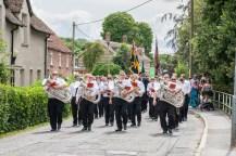 Shrewton parade and drumhead service - photo provided by Mr Ken Barnett