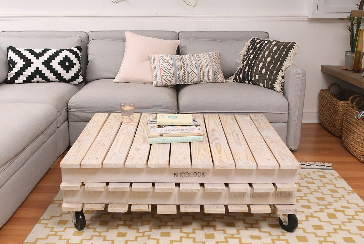 Diy Table With Pallets My Diy Wood Pallet Coffee Table Shrimp Salad Circus