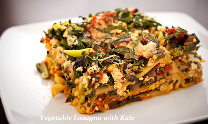 Vegetable Lasagna with Kale