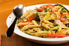 Low Fat Chicken Penne Marengo Recipe
