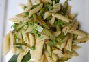 Pasta Primavera, White Wine, Peppers & snow peas