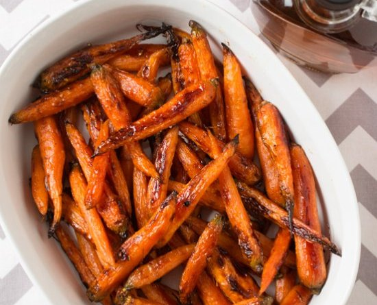 Roasted Carrots Glazed