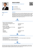 Resume Format 2016 12 Free To Download Word Templates Resume Formats In Word And Pdf