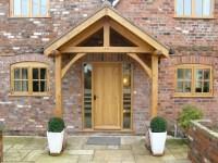Westminster Oak Porch - Shropshire Door Canopies