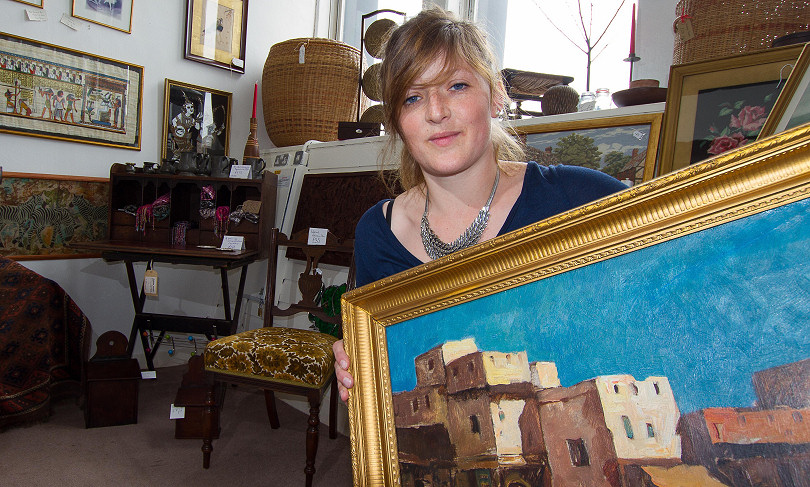 Vintage Hall Rugs New Vintage And Antiques Business Launches In Shrewsbury