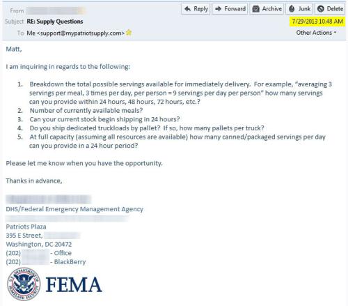 FEMA-mypatriotsupply