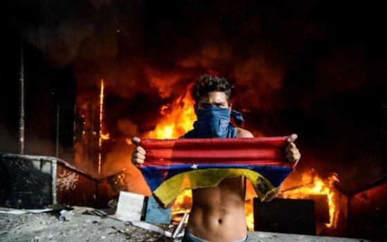 venezuelafire