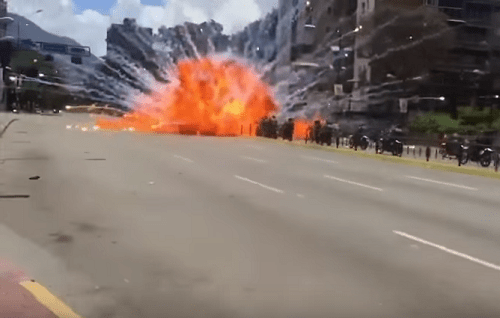 venezulea-explosion
