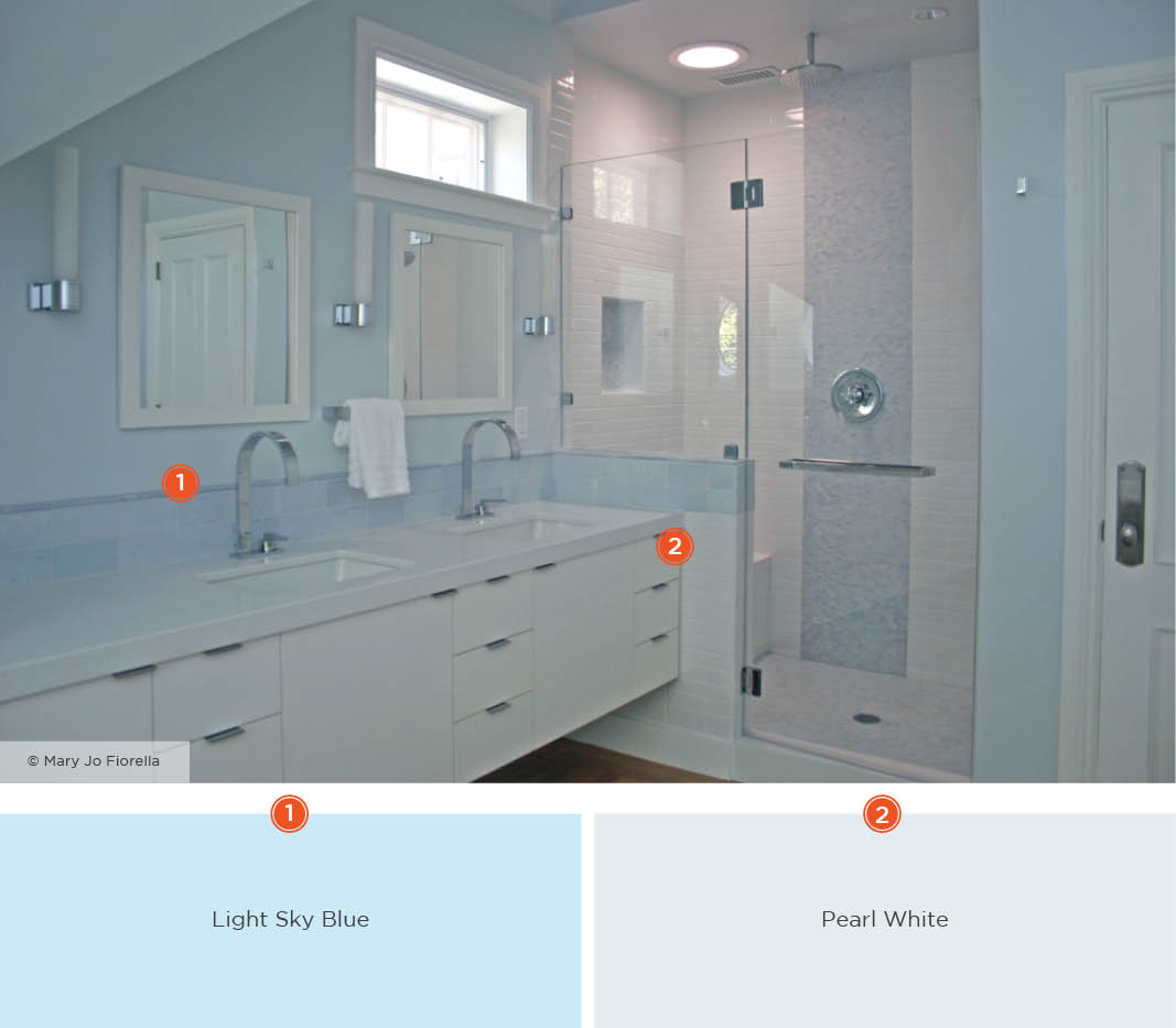20 Relaxing Bathroom Color Schemes Shutterfly