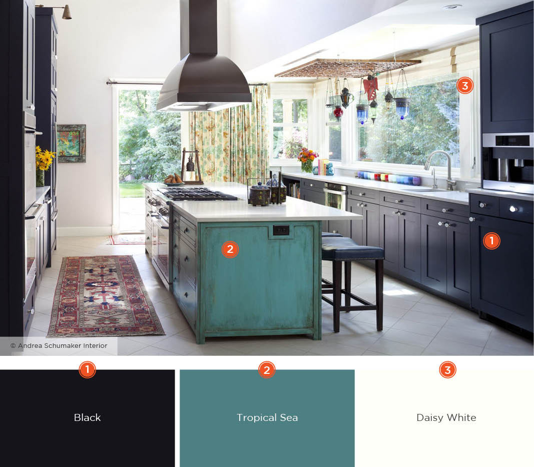 Kitchen Color Design Pictures 20 Enticing Kitchen Color Schemes Shutterfly