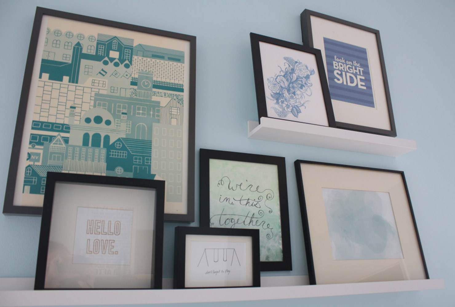 Art Wall 25 Unique Diy Wall Art Ideas With Printables Shutterfly