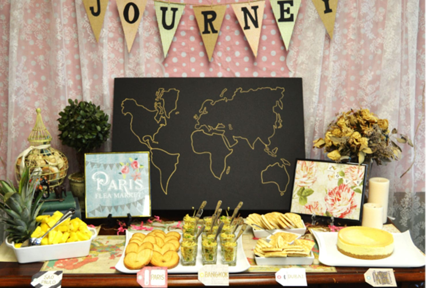 Around The World Decoration Ideas 60 Bridal Shower Themes To Help You Celebrate In Style Shutterfly
