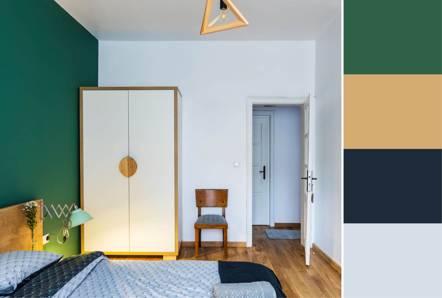 Green Accent Wall 30 Accent Wall Color Combinations To Match Any Style
