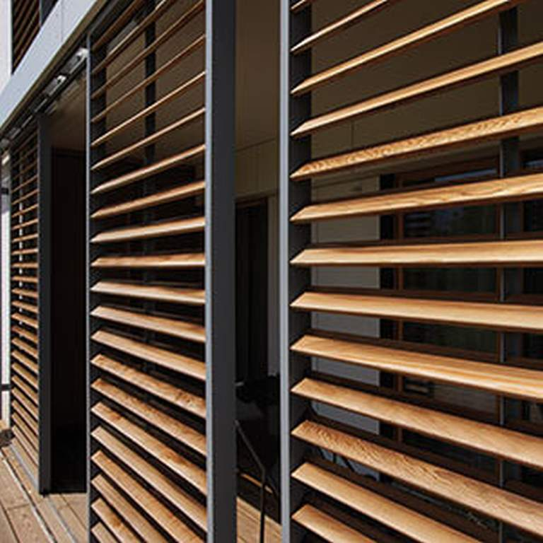 Aluminium Louvres Shuttershop Residential Commercial - Claustra Persienne