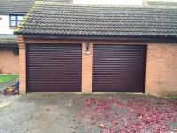 Rosewood SeceuroGlide Roller Garage Doors in Thame