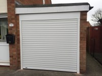 White Roller Garage Door in Thame - Shutter Spec Security