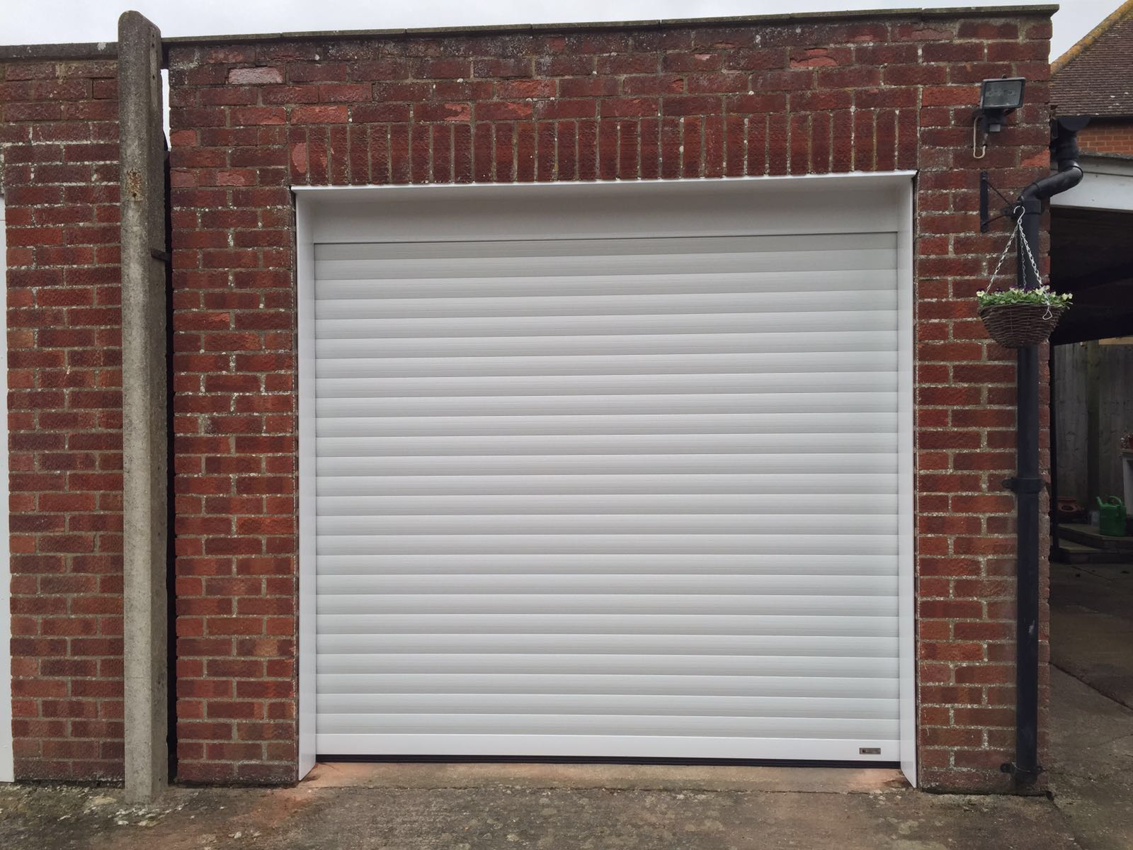 Seceuroglide roller garage door in thame