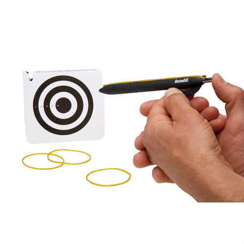 rubberband shooting pen