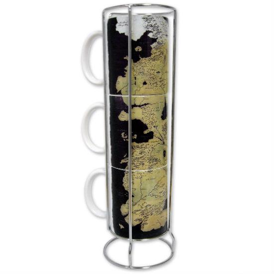 game fo thrones map of westeros mug set