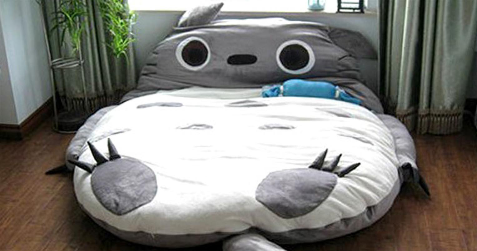 Totoro Bett Giant Totoro Bed - Shut Up And Take My Yen