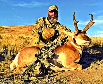 Wyoming Antelope 300 Blackout hunt