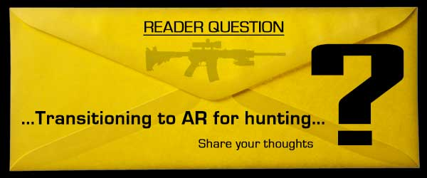 AR15 for hunting