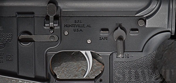 Standard AR-15 Safety Selector vs. BAD ASS