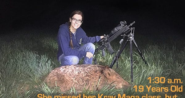 Hog hunt with Bushmaster Minimalist 300 BLK