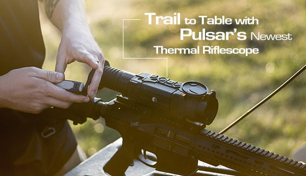 Hog Hunting with Pulsar XP50 thermal scope