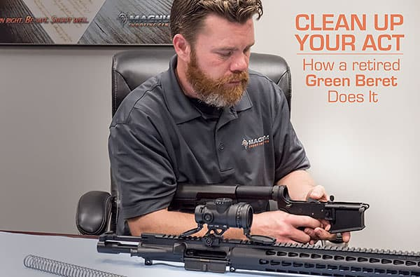 Cleaning your AR15 in 2017