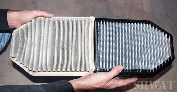 air filter for hunting vehicle