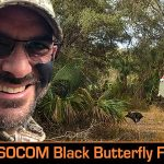 Black Butterfly Lands On Wild Hog Video (458 SOCOM in Florida!)
