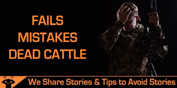 Hunting Fails