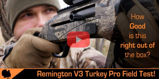 Remington V3 Turkey Pro Review and Test