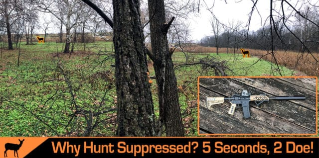 Hunt with a suppressor