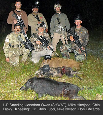 Tactical Hog Hunt Results