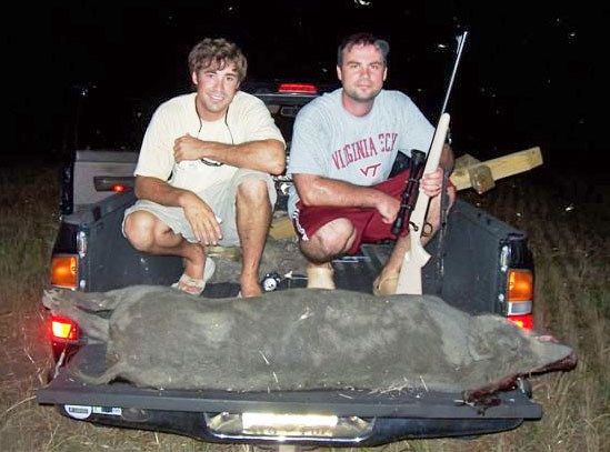 Mississippi Hog Hunt