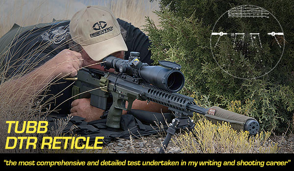 David Tubb DTR Reticle Review