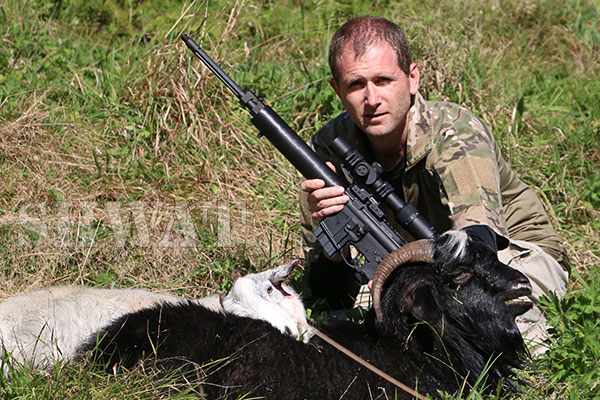 New Zealand Goat Hunt
